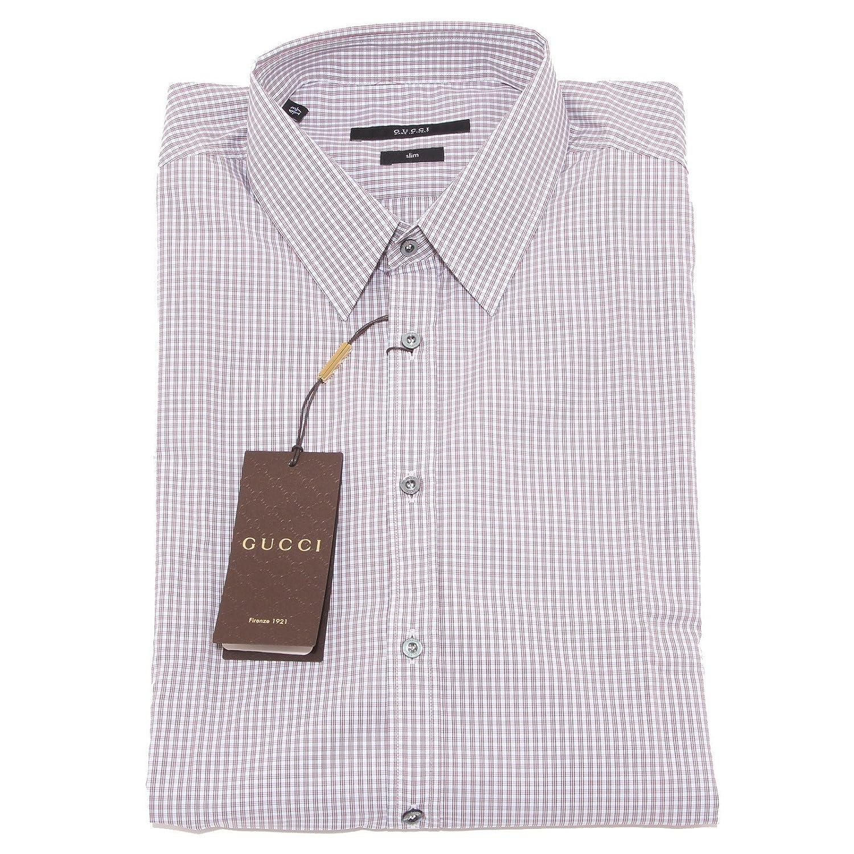 4755O camicia manica lunga slim GUCCI camicie uomo shirt men [43 ...