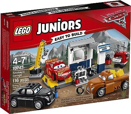 Amazon Com Lego Juniors Smokey S Garage 10743 Building Kit Toys Games