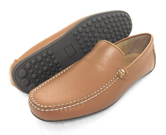 Zerimar Mocasin de Piel para Hombre Zapatos Hombre Mocasines Calzado Hombre Vestir: Amazon.es: Zapatos y complementos