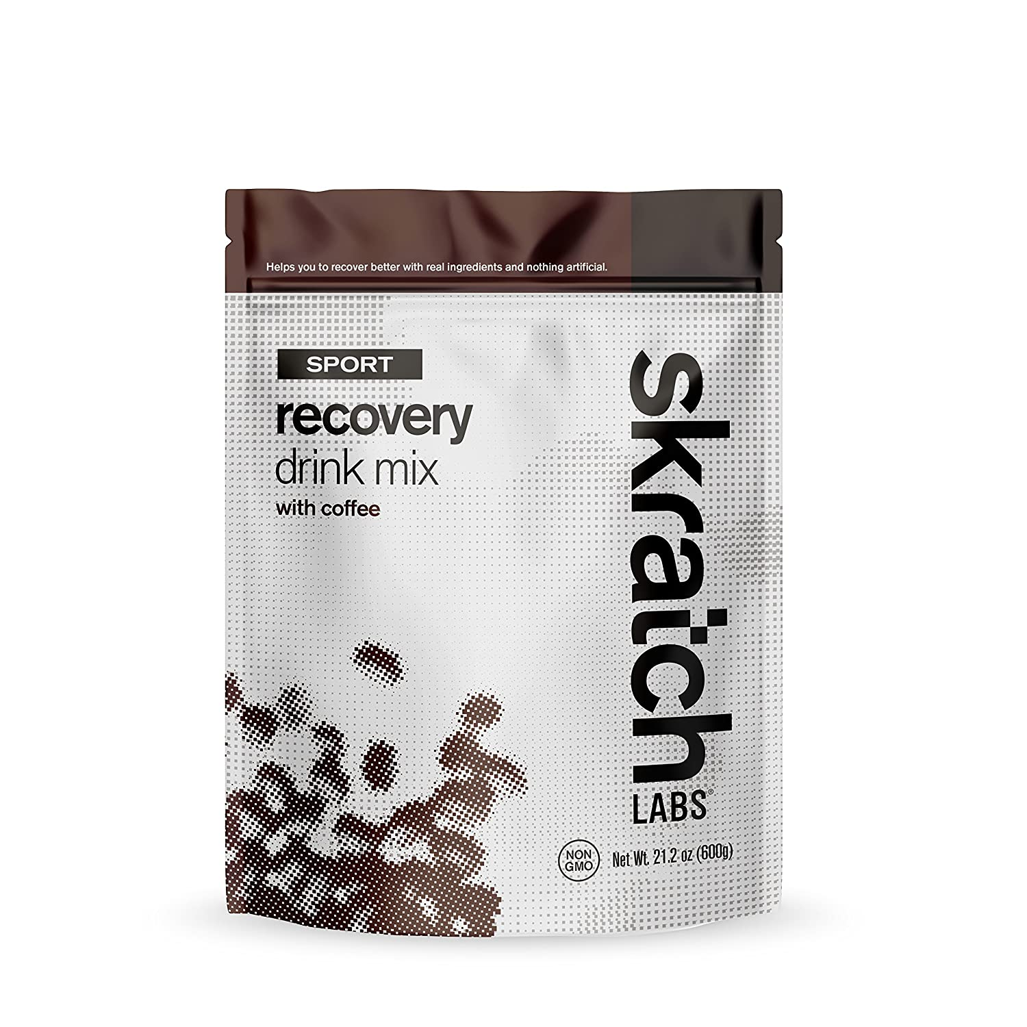 Skratch Labs: NEW Sport Recovery Drink Mix with Coffee, 12 serving resealable bag