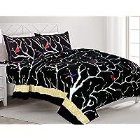 MagicBlizz Rajasthani Jaipuri/Bermeri Double Bedsheet with 2 Pillow Cover