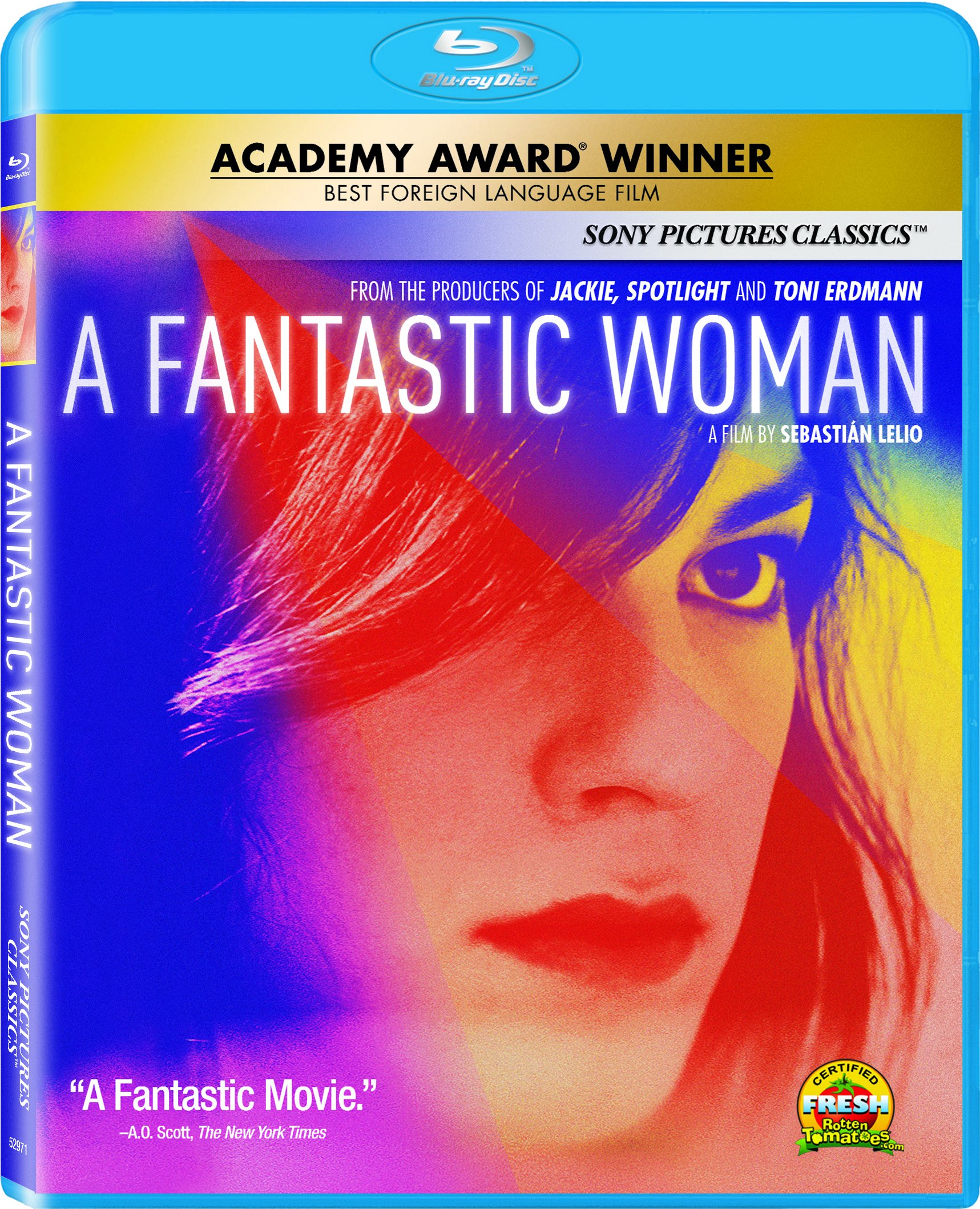 Blu-ray : A Fantastic Woman (Dolby, AC-3, Widescreen, Subtitled)