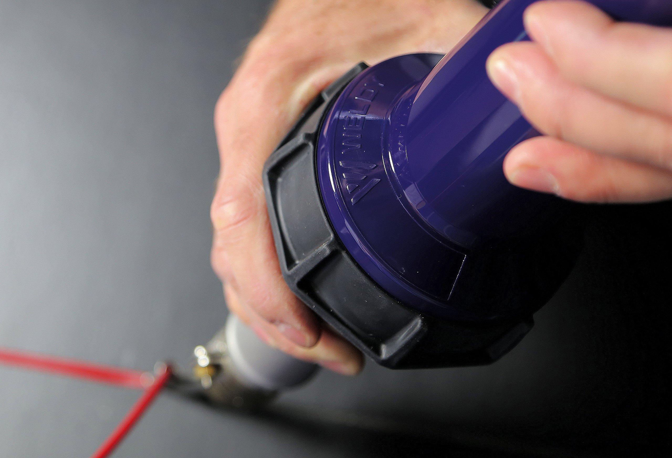 Speed Welding Nozzle for HT1600 Plastic Hot Air Welding Heat Gun Tool (Dia.4mm)