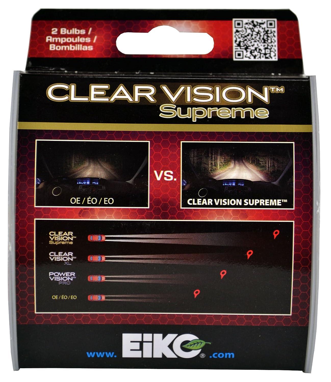 Amazon.com: EiKO H11BCVSU2 H11B Clear Vision PRO Halogen Bulb-2 pk: Automotive