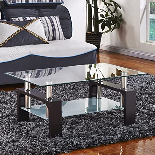 Glass Oak Coffee Table Uk: Milano X Glass & Wood Coffee Table Oak, (135 W X 80 D X 45