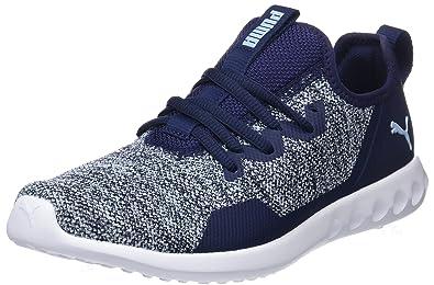 outlet store eb064 4a033 Puma Carson 2 X Knit Wn s, Chaussures de Running Femme, Bleu (Peacoat-