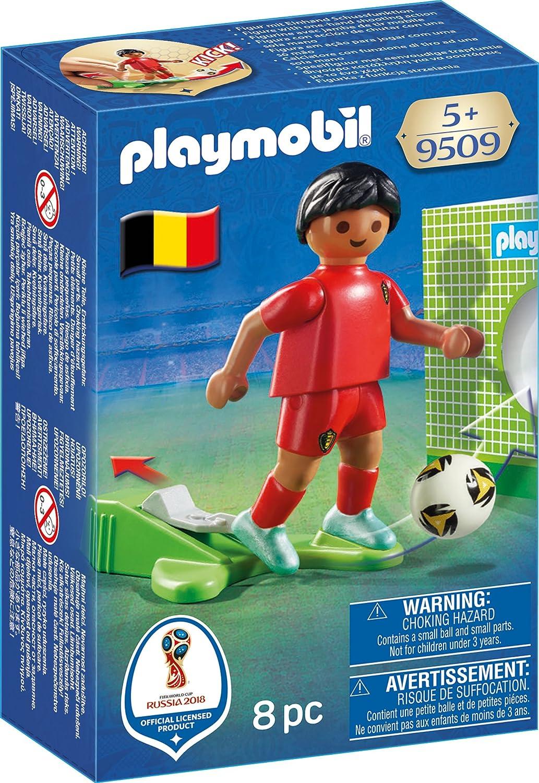 PLAYMOBIL 9509 Nationalspieler Belgien ja Spielzeugfiguren