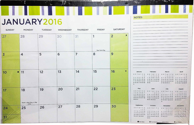11x17 calendar