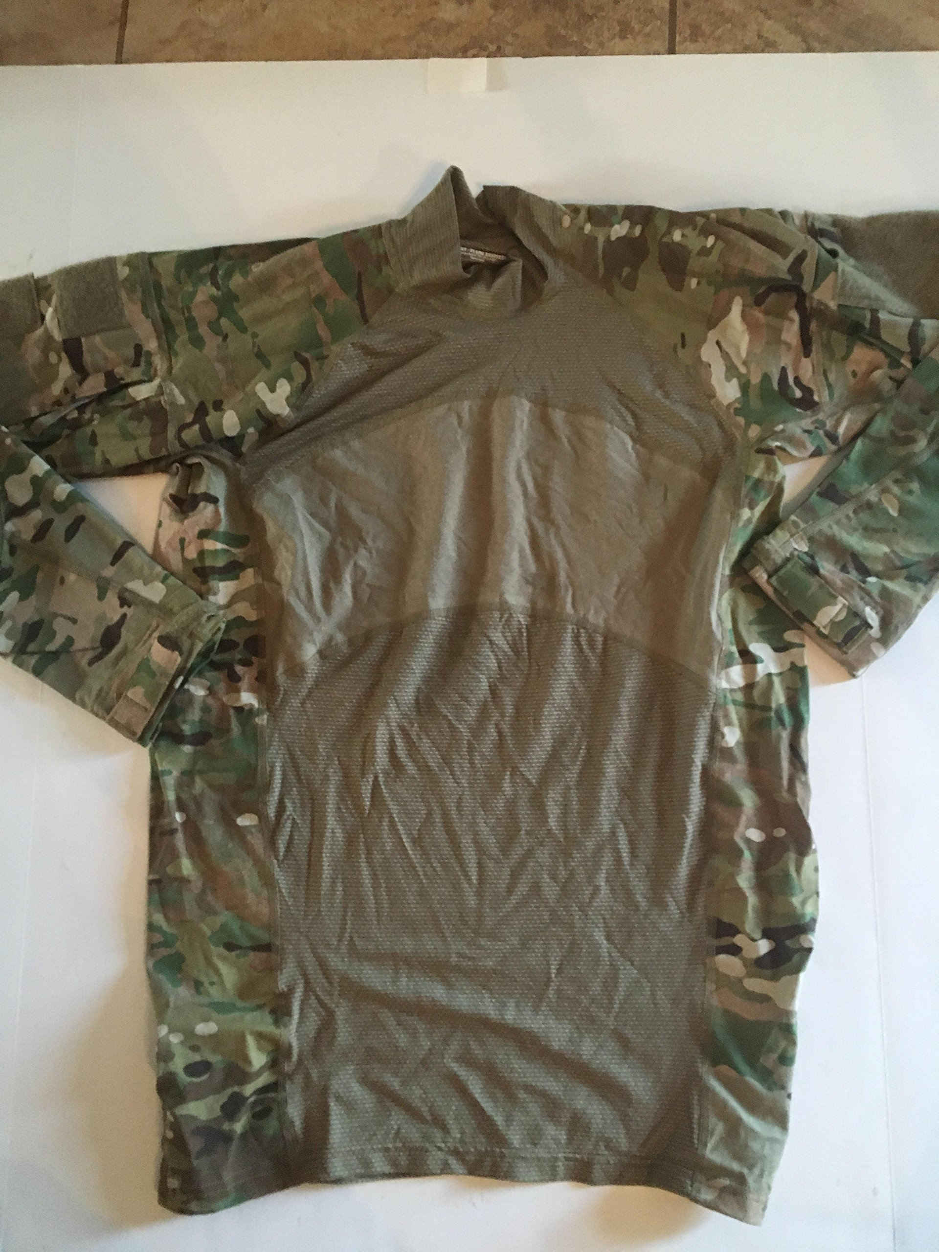 US ARMY COMBAT SHIRT (ACS) Massif Flame Resistant Multicam (Large)