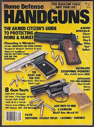 Home Defense HANDGUNS Springfield Armory SAR-48 AK22 Uzi H&K