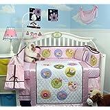 SoHo Happy Secret Garden Baby Crib Nursery Bedding Set 13 pcs