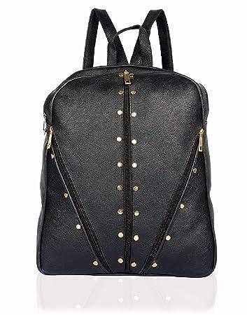 ece2ade2fc0dd8 Beets Collection Student Shoulder Backpack for Women & Girls Bag (Black)
