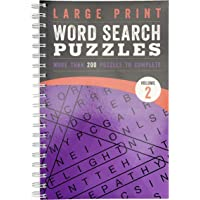 Large Print Word Search Puzzles: Volume 2 (Large Print Puzzle Books)