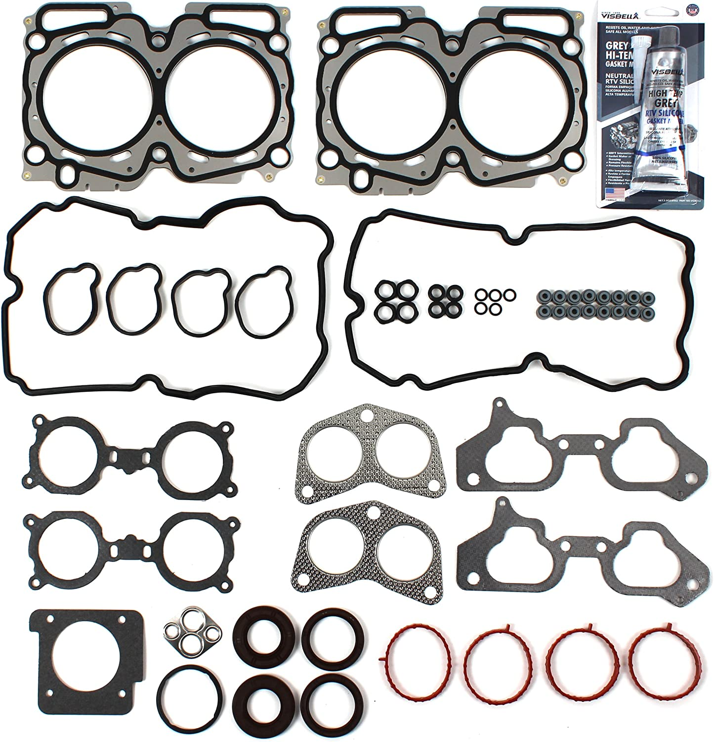 NEW EH7226 MLS Cylinder Head Gasket Set for 04-06 Subaru Baja Forester Legacy Outback 2.5L DOHC TURBO EJ255