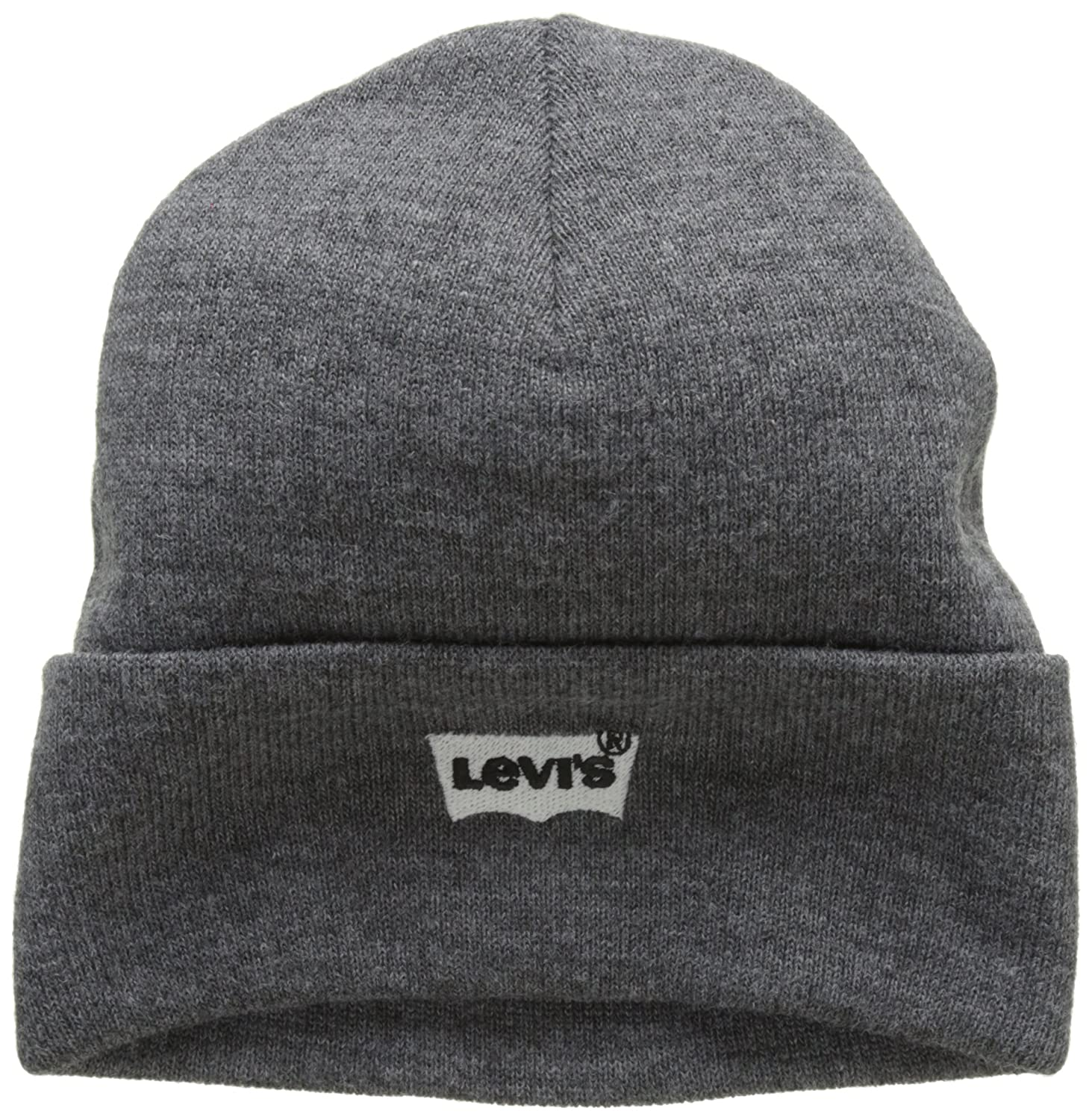 Levi's Batwing Embroidered Slouchy Beanie, Cuffia Uomo Blu (Navy Blue 17) Levi' s 225984-11