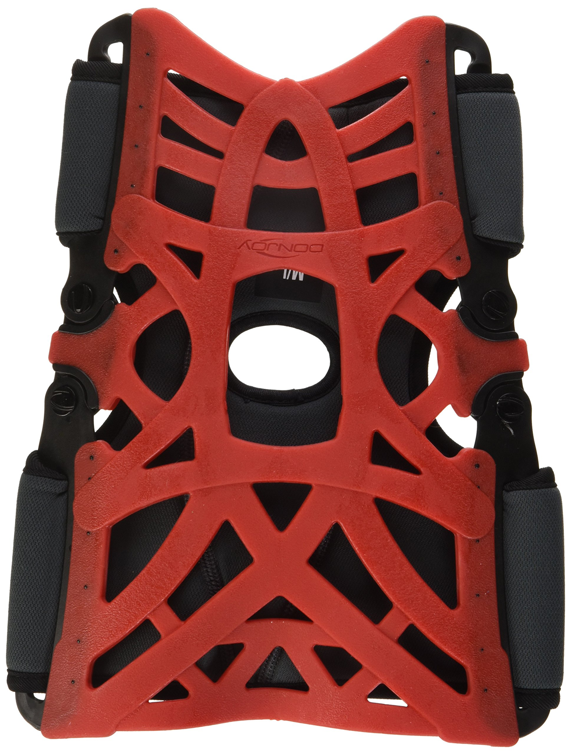 DonJoy Reaction Web Knee Support Brace with Compression Undersleeve: Red, Medium/Large