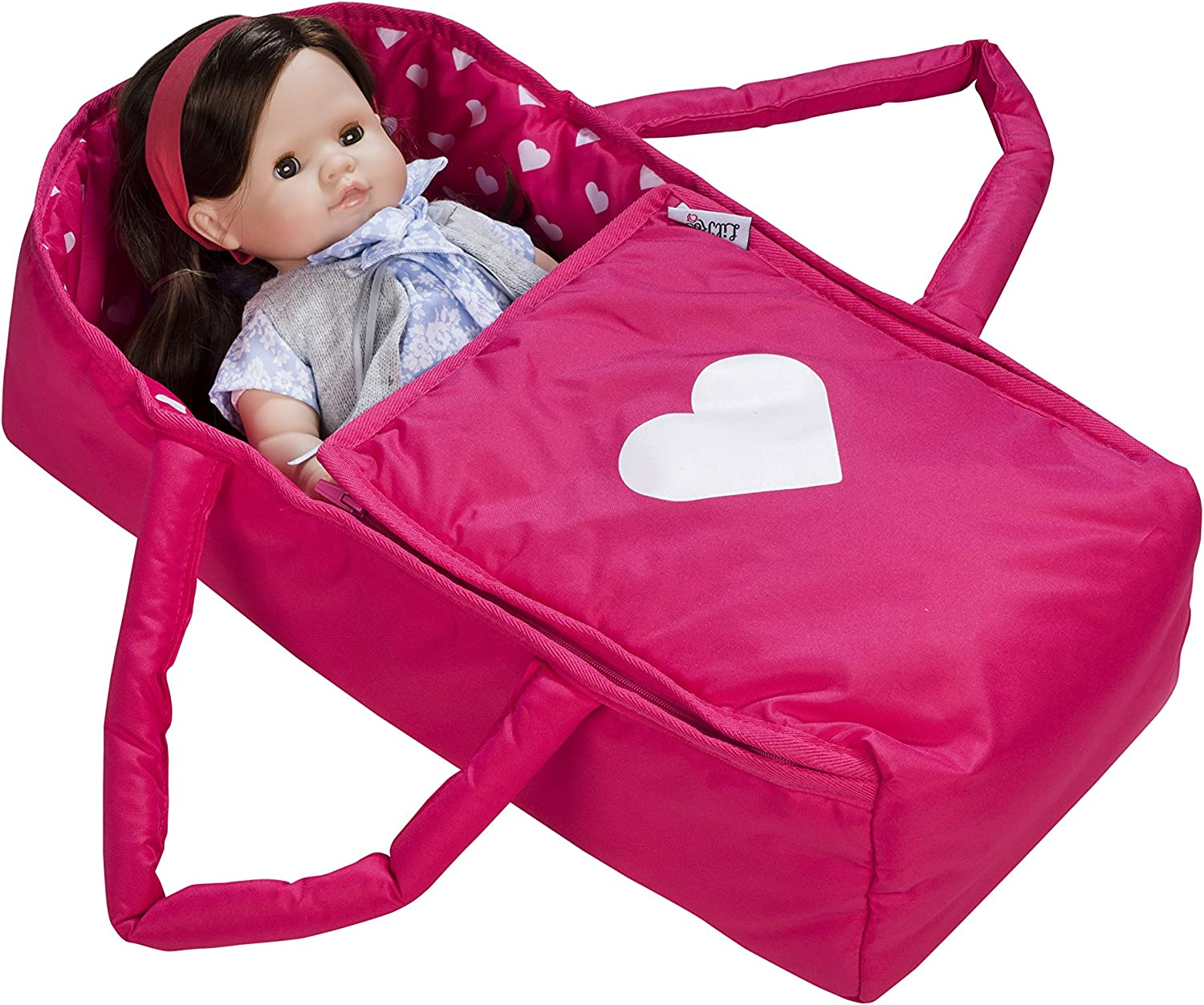 18 inch Cute Baby Doll Backpack Carrier Bag Carry Cot Accessories For Outdoors