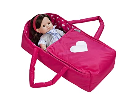 Doll Travel Bed Carrycot Carrier And Bassinet Fits 18 Inch American Girl Doll Doll Not Included