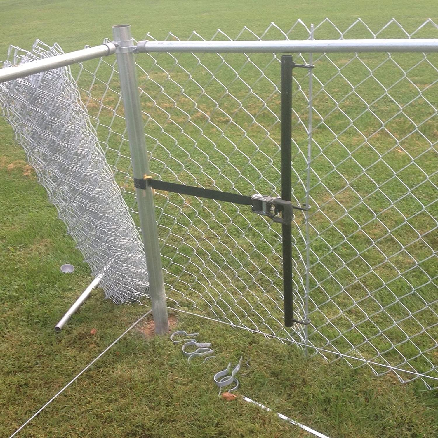 Amazon.com : Ezzypull Chain Link Fence Stretcher Pulling Made in USA ...