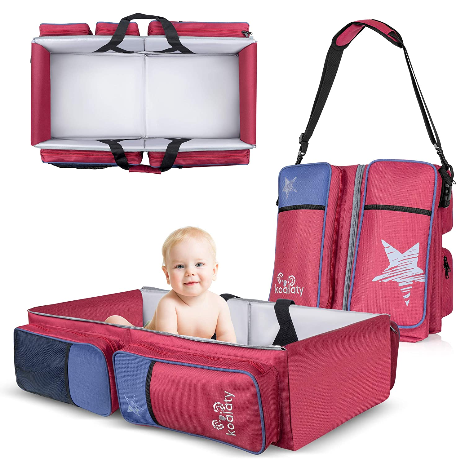 Aussie Collection Weekender Bag Baby changing Day Trip New Baby Beach Bag Holiday bag Koala and Kangaroo