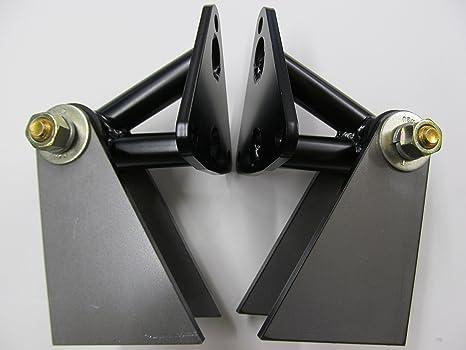 SBC y BBC Chevy weld-in Motor Motor Mounts/platos, par, hechas