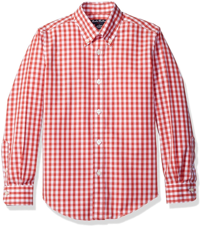 Amazon Brooks Brothers Boys Non Iron Gingham Sport Shirt Clothing