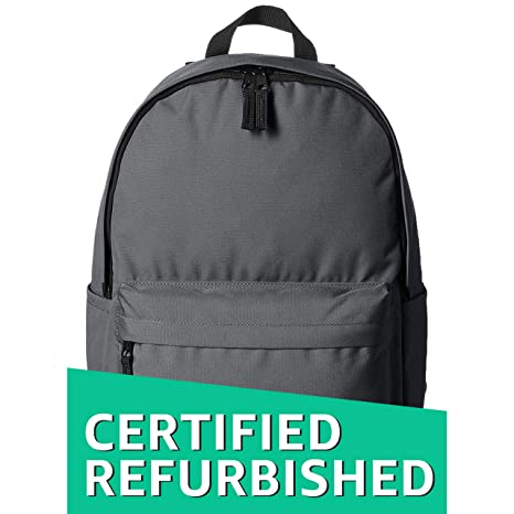 2e5ef4648cce (Certified REFURBISHED) AmazonBasics 21 Ltrs Classic Backpack - Grey  Amazon .in  Bags