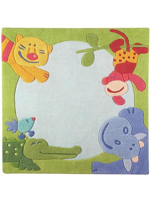 Haba Teppiche: Kinderzimmer Kinderteppich Dschungel ...