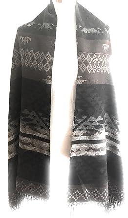 BREAL - Echarpe - Femme FOHEMIA-MOKA Taille unique  Amazon.fr ... b50751804f0