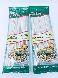 Sadaf Noodles for Aash-e Reshteh 12 oz ( Pack of 2)
