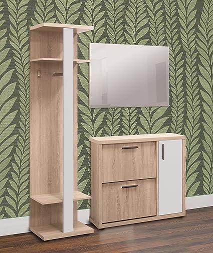 Lola moderno pasillo Juego de muebles de perchero perchero ...