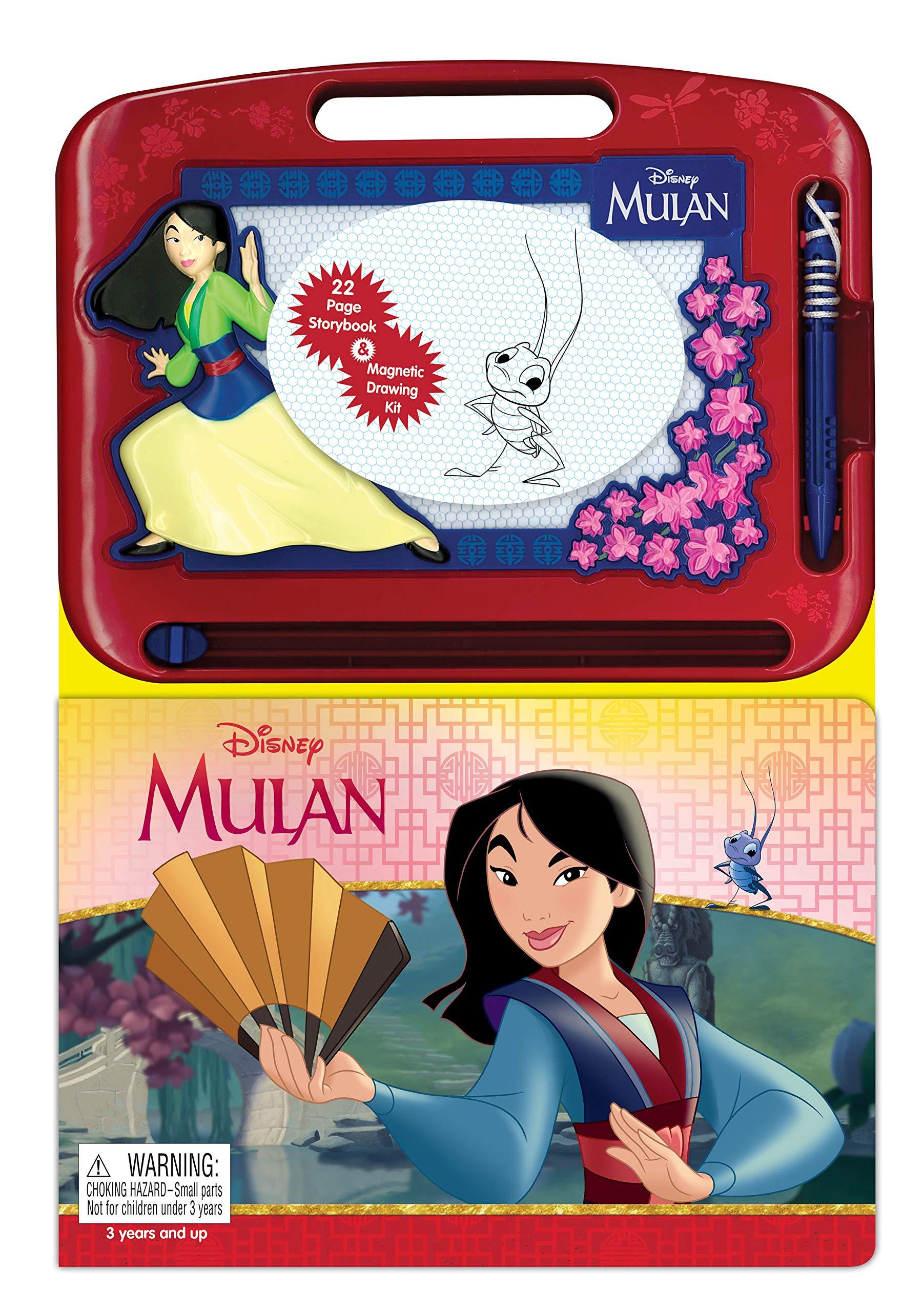 Disney Mulan Learning Series Phidal Publishing Inc 9782764350850 Amazon Com Books