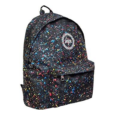 HYPE JUST HYPE PRIMARY SPECKLE SPLAT SS16FL014 Black Multi Backpack  Rucksack Bag  Amazon.co.uk  Clothing f02d96d8c44d3