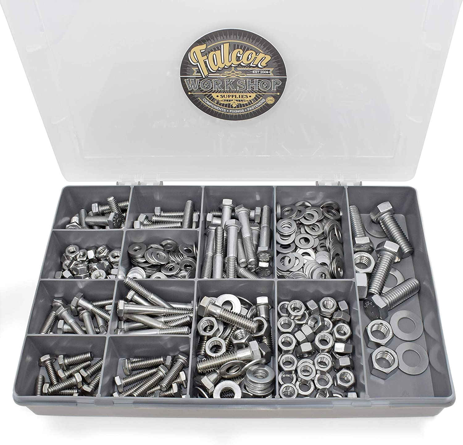 """LOCK NUTS A2 STAINLESS STEEL 3//16,1//4,5//16,3//8,7//16,1//2/"""" UNC HEXAGON THIN,HALF"""