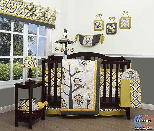Boutique Monkey Go Happy Crib Bedding Collection Baby