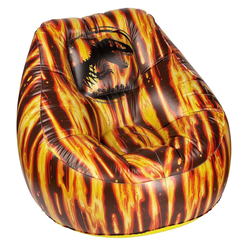 Jurassic World ANJW1082 Inflatable Chair, 23x30x30, Multi 23x30x30 Almar Sales Company ANJW1082 - A