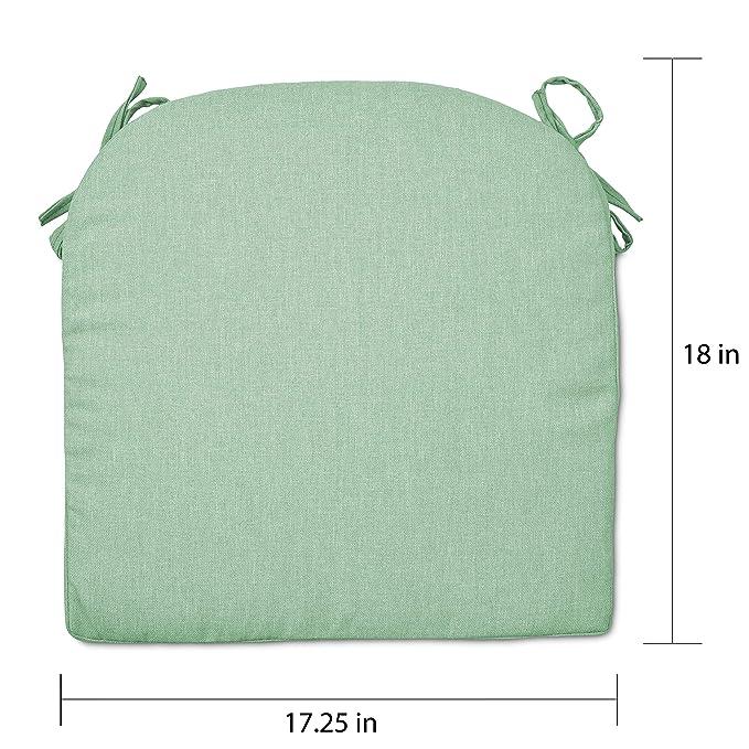 Amazon.com : Overstock Round Back Outdoor Seat Cushion Tan ...