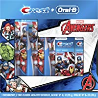Oral-B and Crest Kids HoliDay Pack Featuring Marvels Avengers