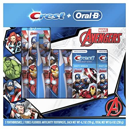 Oral-B and Crest Kid's Holiday Pack Toothpaste