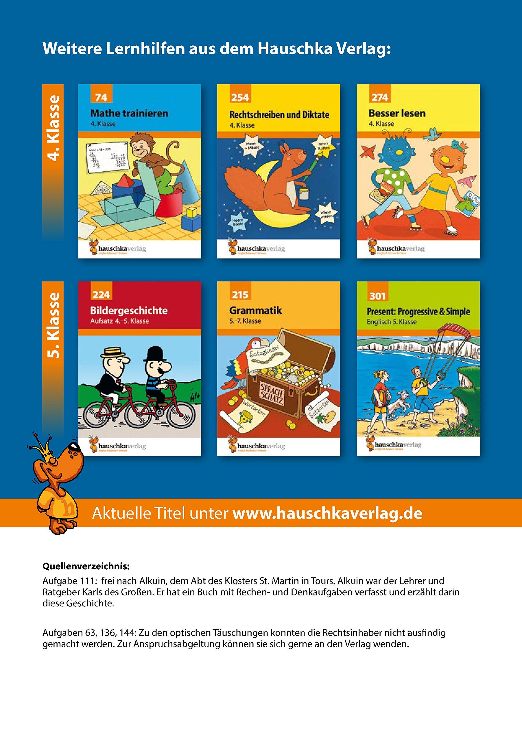 Textaufgaben 4. Klasse: Amazon.de: Adolf Hauschka, Gisela Specht: Bücher