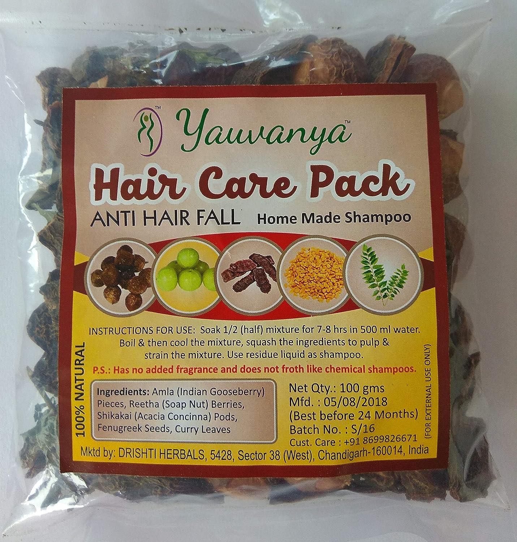 Amazon Com Yauvanya Make At Home Shampoo Diy Hair Care Kit Anti Hairfall Sulphate Beauty