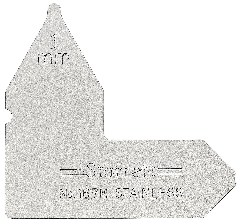 Starrett 167M-1 Radiusmesser 1 mm Radiusmesser