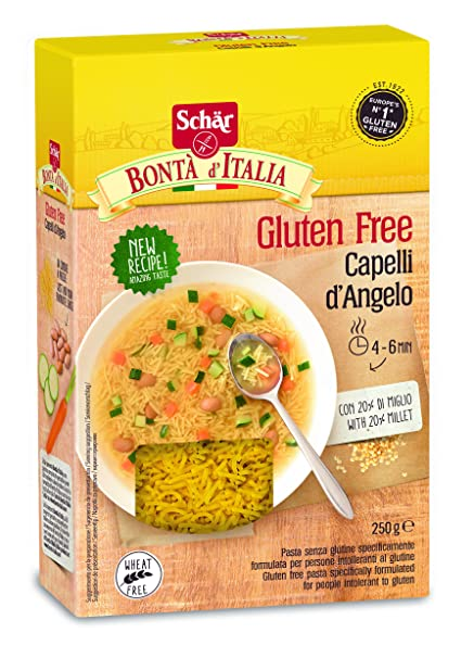Dr. Schar Capelli DAngelo Pasta - 250 gr - [Pack de 5
