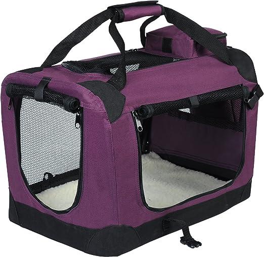 EUGAD Bolsa de Transporte para Mascotas Transportín de Mascotas ...