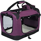 EUGAD Pet Carrier Lightweight Dog Cage Portable Travel Luxury Dog Cat Puppy Bag