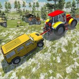 mud truck games - Heavy Duty Tow Truck Simulator - Tractor Pulling