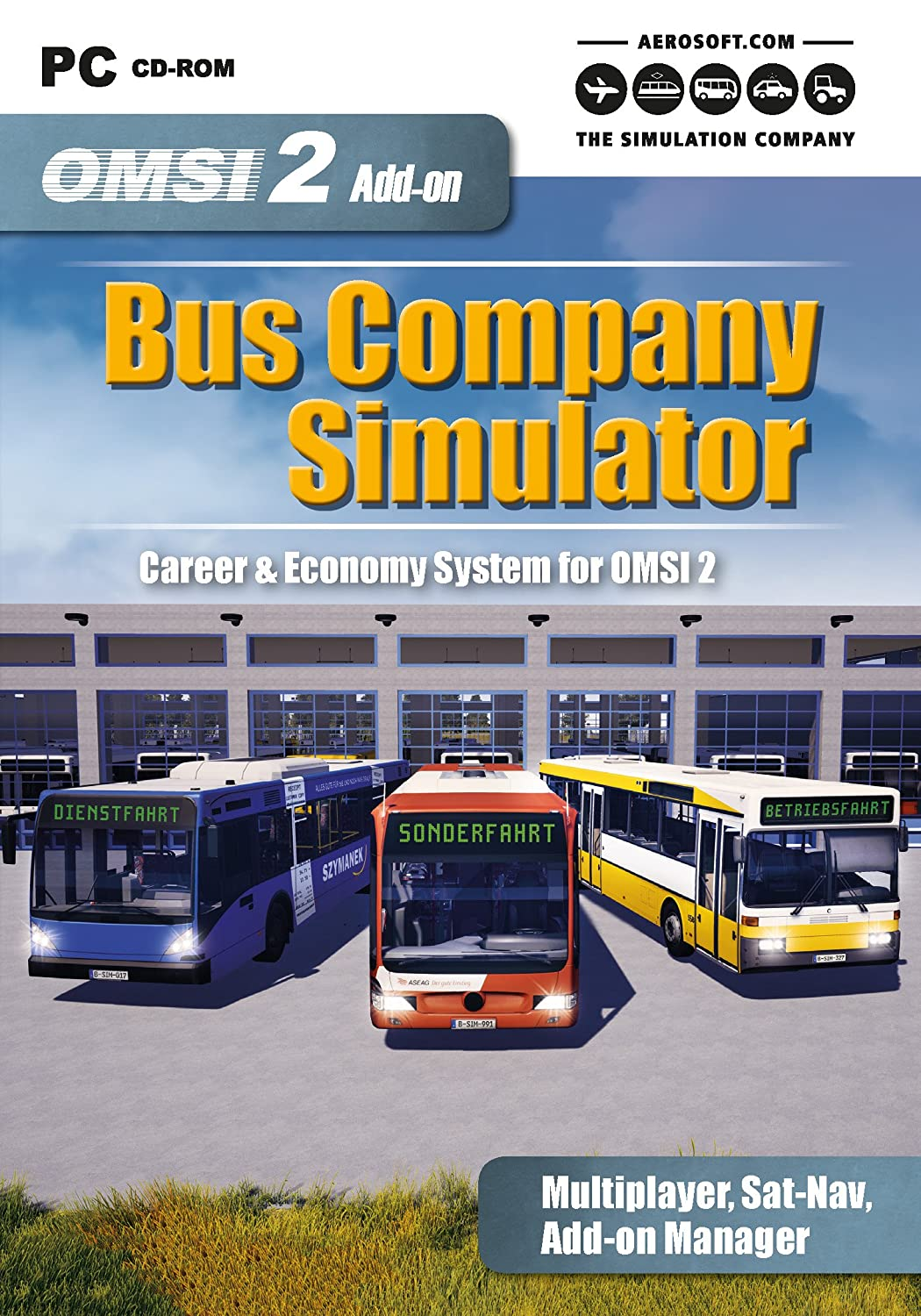 OMSI 2 Add On Bus Company Simulator (PC DVD): Amazon co uk