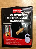 Rentokil Clothes Moth Killer Hangers
