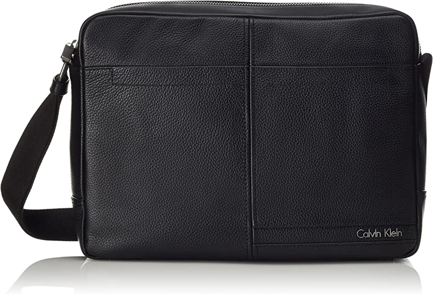 Calvin Klein Chris Messenger bolso bandolera 38 cm compartimento portátil Laptop Black