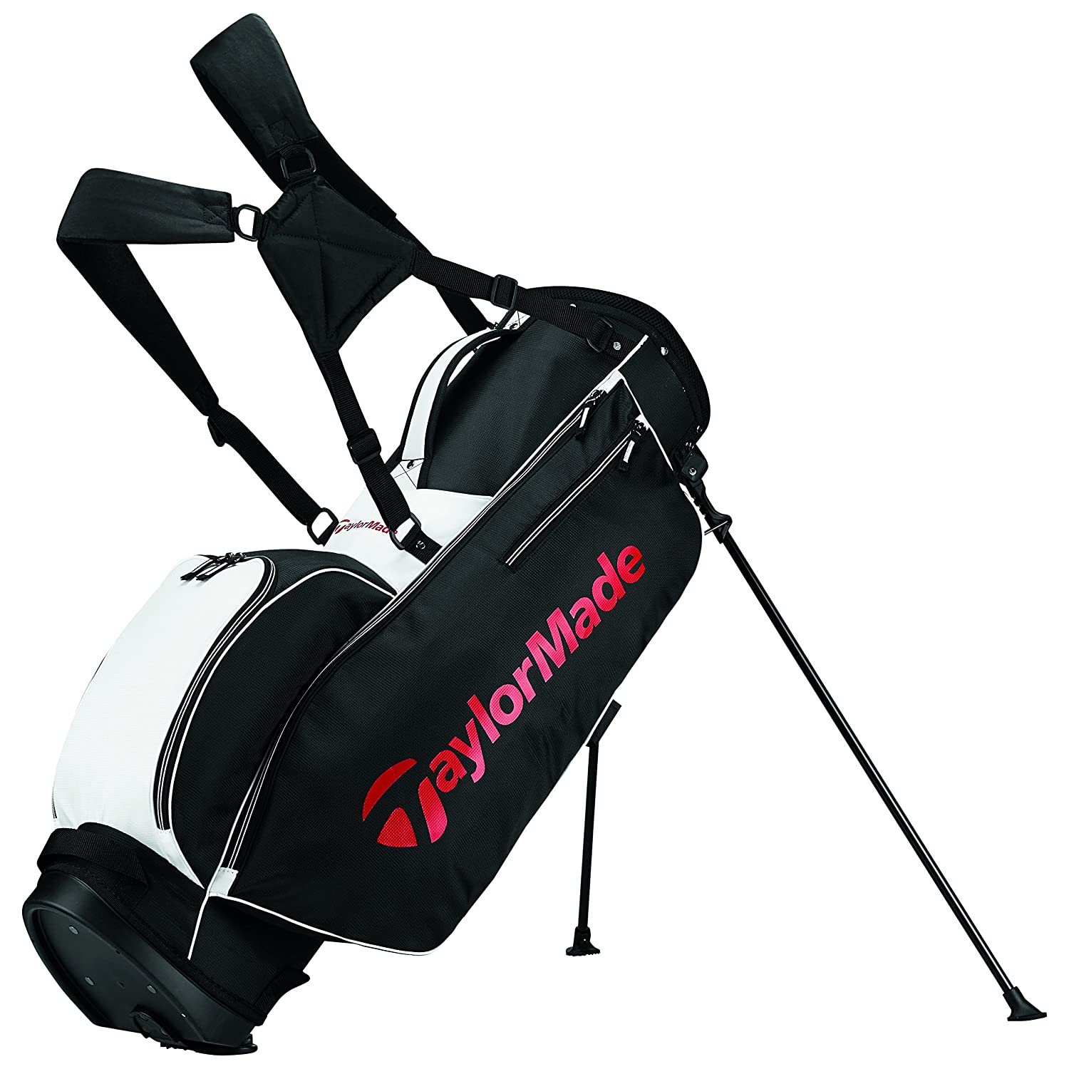 【正規販売店】 テーラーメイドゴルフ2017 Golf tmスタンドゴルフバッグ5.0TaylorMade Golf 2017 TM Stand Stand Golf Bag Black/White/Red 5.0並行輸入品 B01NCSNGRO Black/White/Red Black/White/Red, 作東町:905eb78f --- cursos.paulsotomayor.net